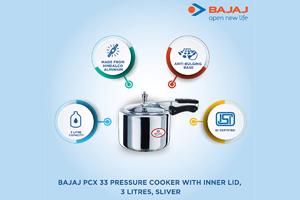 3 LTR Inner Lid Pressure Cooker